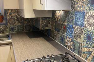 Lauren's Kitchen Bespoke Tiles